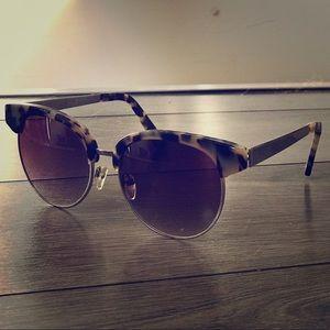 Anthropologie - Tortoise Clubmaster Sunglasses